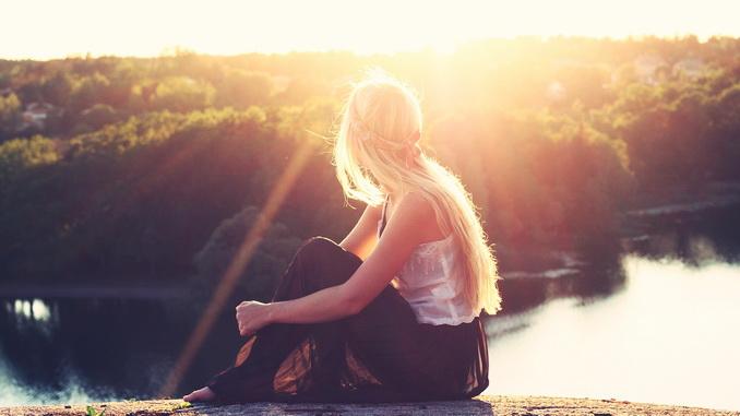 La lumière du soleil
