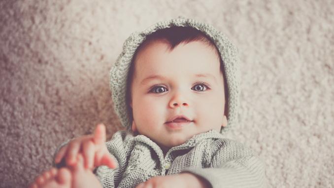 Les yeux de bébé