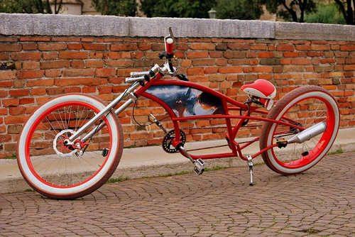 Vélo tape à l'œil